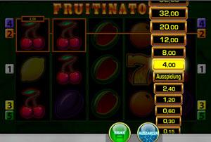 Fruitinator Risikoleiter online