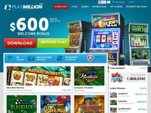 playmillion jackpot